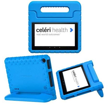 Hard Tablet Case (Blue)